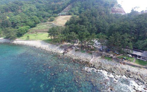 西伊豆黄金崎は日本でも絶景のダイビングポイント