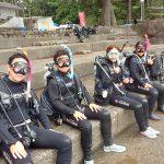 8月11日黄金崎体験ダイビング
