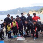 西伊豆黄金崎でシュノーケリング(スノーケリング)と体験ダイビングを楽しみました!ファミリーの若者もめちゃくちゃ楽しめましたよ~。
