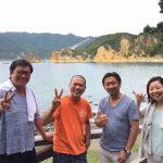 静岡県西伊豆町黄金崎公園ビーチのダイビングで見れたガイドゲストの画像です。ここはダイビングはもちろんシュノーケリングや体験ダイビングも楽しめる絶景ポイントです。