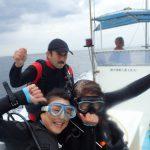西伊豆安良里でボートダイビングしてきました~!すごくいい海でした。