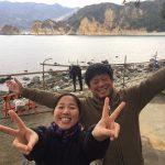 静岡県西伊豆町黄金崎公園ビーチに遊びにいらしたゲスト様の画像です。ここはダイビングはもちろんシュノーケリングや体験ダイビングも楽しめる絶景ポイントです。