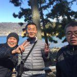 静岡県西伊豆町黄金崎公園ビーチでダイビングを楽しんだゲスト様の写真です。ここはダイビングはもちろんシュノーケリングや体験ダイビングも楽しめる絶景ポイントです。