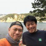 静岡県西伊豆町黄金崎公園ビーチの本日お越し頂いたゲスト様の画像です。ここはダイビングはもちろんシュノーケリングや体験ダイビングも楽しめる絶景ポイントです。