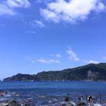 夏空:静岡県西伊豆町黄金崎公園ビーチのダイビングで見れました。ここはダイビングはもちろんシュノーケリング(スノーケリング)や体験ダイビングも楽しめる絶景ポイントです。
