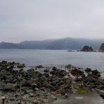 静岡県西伊豆町黄金崎公園ビーチの海況画像です。ここはダイビングはもちろんシュノーケリング(スノーケリング)や体験ダイビングも楽しめる絶景ポイントです。