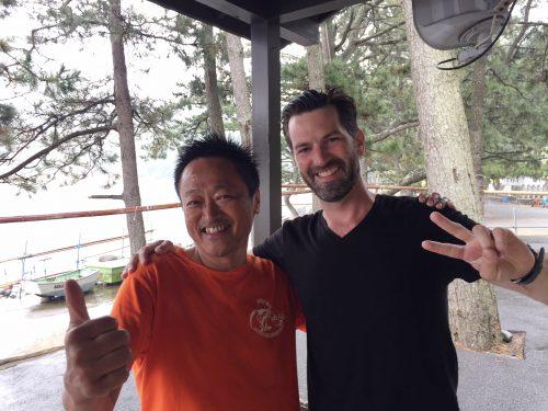 オランダから来たヨケムさん:静岡県西伊豆町黄金崎公園ビーチのダイビングで見れました。ここはダイビングはもちろんシュノーケリング(スノーケリング)や体験ダイビングも楽しめる絶景ポイントです。