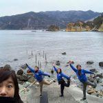 静岡県西伊豆町黄金崎公園ビーチのダイ