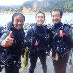 西伊豆黄金崎の体験ダイビング