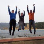 集合写真:f静岡県西伊豆町黄金崎公園ビーチのダイビングで見れました。ここはダイビングはもちろんシュノーケリング(スノーケリング)や体験ダイビングも楽しめる絶景ポイントです。