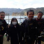 集合写真:静岡県西伊豆町黄金崎公園ビーチのダイビングで見れました。ここはダイビングはもちろんシュノーケリング(スノーケリング)や体験ダイビングも楽しめる絶景ポイントです。